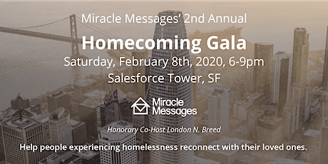 Miracle Messages' 2nd Annual Homecoming Gala tickets