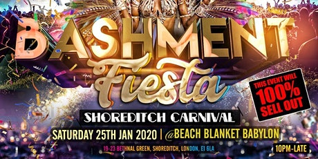 Bashment Fiesta - Shoreditch Carnival tickets