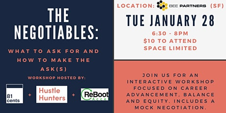 The Negotiables: What to ask for and how to make the ask(s) tickets