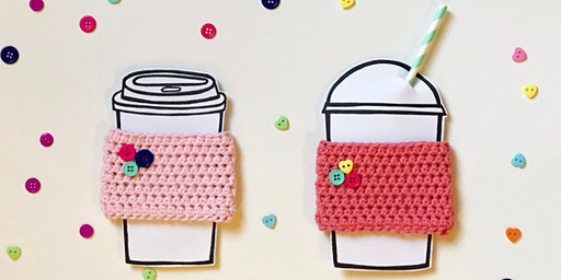 Mimosas + Crochet Mug Cozy's with Creekside Crochet: Sunday, February 2 at 11am
