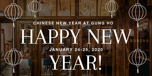 Chinese New Year at Gung Ho