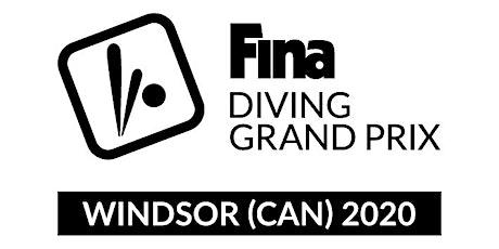 2020 Canada Cup - FINA Diving Grand Prix - Windsor billets