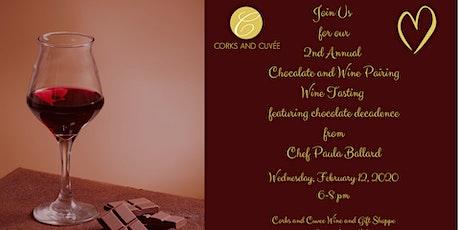Wine Tasting and Chocolate Decadence tickets