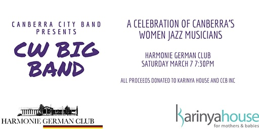Canberra City Band presents the CW Big Band