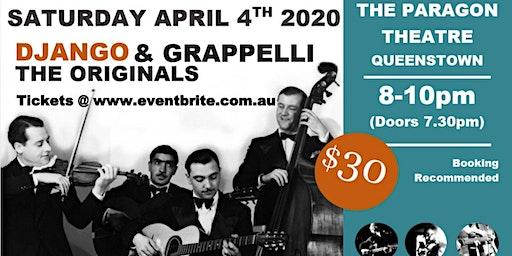 Django & Grappelli: The Originals @ The Paragon Theatre (Queenstown)