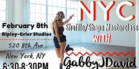 Gabby J David - Shapes Workshop | NYC tickets