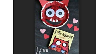 Early Art-Literacy and Art Inspired for Littles. Love Monster (02-15-2020 starts at 10:00 AM) tickets
