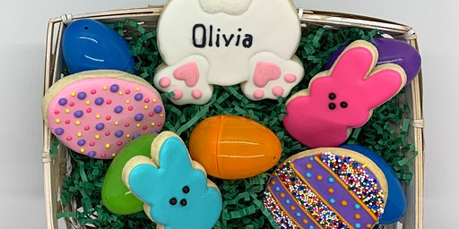 Kid Friendly Easter Cookie Decorating Class
