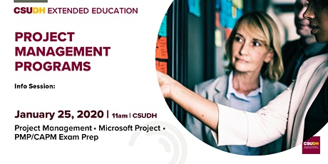 Info Session: Project Management Programs | CSUDH tickets