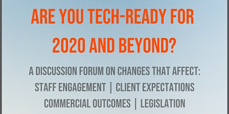 The Future of Technology in Professional Services tickets