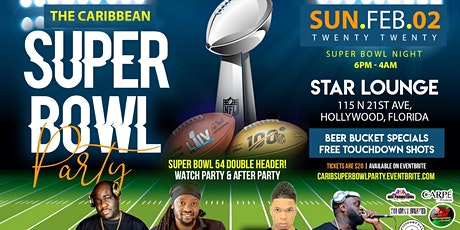 The Carribbean Super Bowl Party tickets