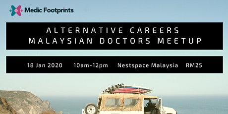 Alternative Careers for Malaysian Doctors Meetup tickets