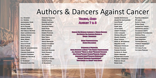 Authors & Dancers Against Cancer - Author Signing Event