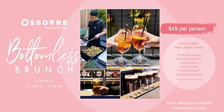 Bottomless Brunch on the Osborne Rooftop (Sundays) tickets