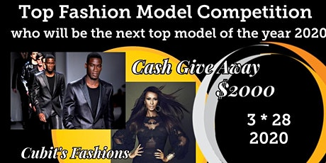 Top Fashion Model Competition who will be the top model 2020 tickets