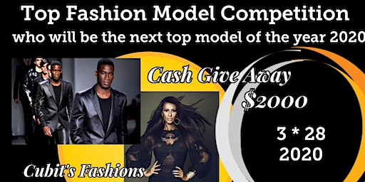 Top Fashion Model Competition who will be the top model 2020