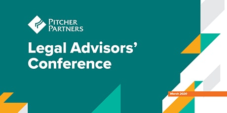 2020 Pitcher Partners Legal Advisors' Conference tickets