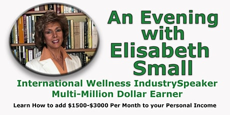An Evening with Elisabeth Small tickets