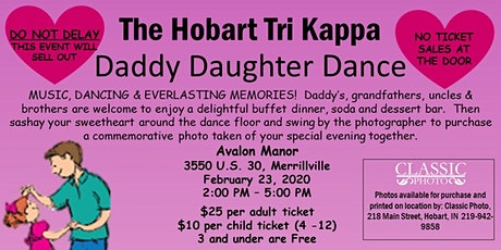 Hobart Tri Kappa Daddy Daughter Dance tickets