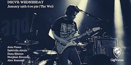 DSCVR Wednesday feat Anto, Gabriella, Dana S, Morghan K & Alex B tickets