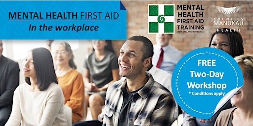 Thursday 27th & Friday 28th February- Mental Health First Aid in the Workplace (2-Day Workshop)