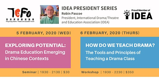 IDEA President Series  (International Drama/Theatre and Education Associati