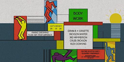 BodyWork: Sunset Rooftop Party / Bushfire Fundraiser SAT 25 JAN