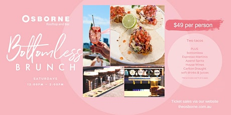 Bottomless Brunch on the Osborne Rooftop (Saturdays) tickets