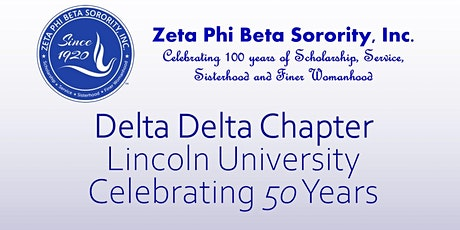 Delta Delta Chapter Celebrating 50 Years biglietti