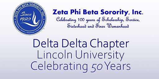 Delta Delta Chapter Celebrating 50 Years