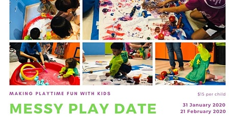 Messy Play Date tickets