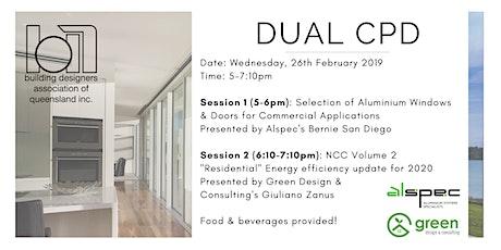 Dual CPD: Aluminium Doors & Windows + Energy Efficiency Update 2020 tickets