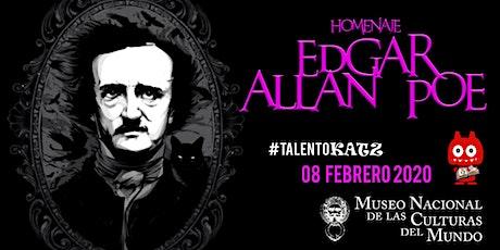 Homenaje Edgar Allan Poe entradas