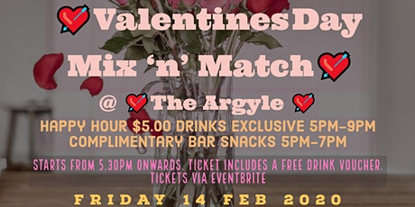 Valentine's Day Singles Mix & Match  tickets