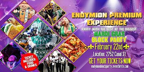 Endymion Premium Experience Mardi Gras Block Party tickets