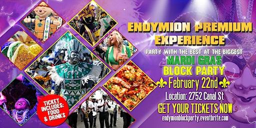 Endymion Premium Experience Mardi Gras Block Party