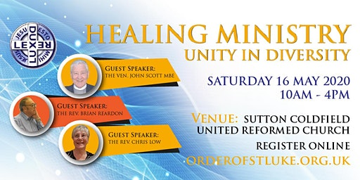 HEALING MINISTRY: Unity in Diversity