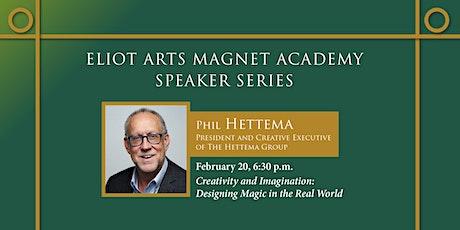 Eliot Arts Speaker Series - Phil Hettema tickets