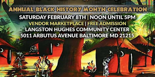 Annual Black History Month Celebration and Marketplace