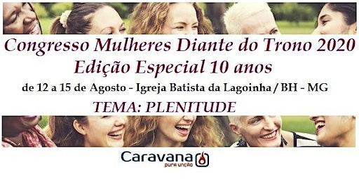 CARAVANA CONGRESSO DE MULHERES DIANTE DO TRONO 2020