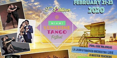 Miami Sunshine Tango Festival 2020 - 2nd Edition