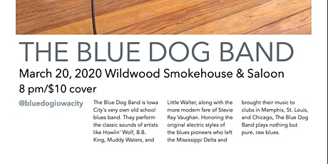 The Blue Dog Band tickets