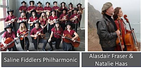 Saline Fiddlers Philharmonic 2020 Hometown Show with Alasdair Fraser & Natalie Haas tickets