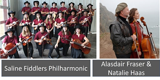 Saline Fiddlers Philharmonic 2020 Hometown Show with Alasdair Fraser & Natalie Haas