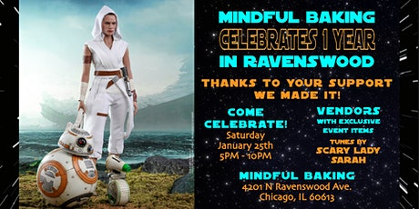 Mindful Baking Celebrates 1 Year in Ravenswood! tickets