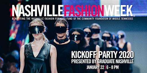 Nashville Fashion Week 2020 Kickoff Party