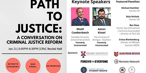 A Conversation on Criminal Justice Reform - Path to Justice