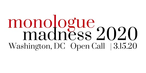 Monologue Madness 2020 - DC Actor Registration