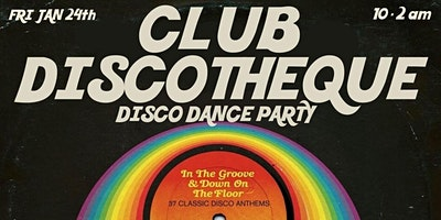 Club Discotheque – Disco Dance Party