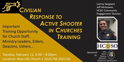 Active Shooter Training for Churches